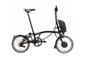 Brompton Electric Black Klapprad