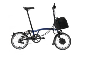 Brompton Electric Faltrad Bolt Blue